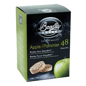 Bradley Apple Bisquettes 48 pack [並行輸入品]