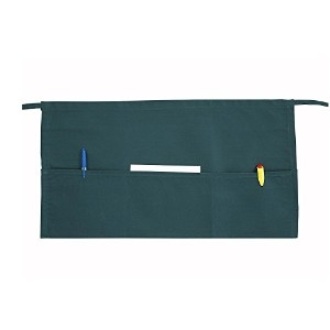 Winco WA-1221G 3-Pocket Waist Apron, Green [並行輸入品]