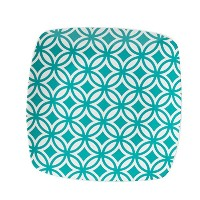 Fitz and Floyd Color Collection Soft Square Salad Plate, Blue [並行輸入品]
