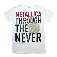 Metallica Through the Never Tee (White)