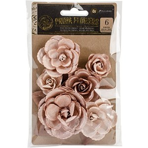 Prima Marketing 586836 Crown Flowers (6 Pack), 1.25' To 2.5', Gold [並行輸入品]
