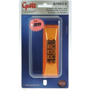 Grote G1903-5 Hi Count Yellow 3-Diode LED Clearance Marker Lights [並行輸入品]