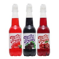 Time for Treats TM Grape, Cherry and Red Raspberry Snow Cone Syrup 3-Pack by VICTORIO VKP1108, 16.9...