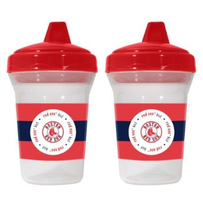 Boston Red Sox Spill-Proof Sippy Cups BPA Free by Baby Fanatic