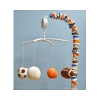 Mod Sports Musical Mobile by Bacati