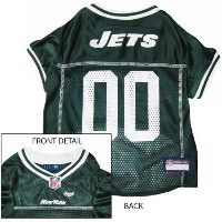 Pets First NYJJ-XS New York Jets NFL Dog Jersey - Extra Small