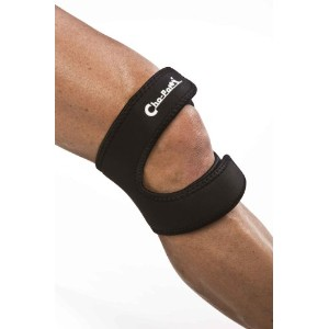 Cho-Pat Dual Action Knee Strap, Black, XX-Large, 20 Inch-22 Inch by Cho-Pat
