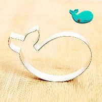 GXHUANG Stainless Steel Cookie Cutter (Whale),for Anniversary Birthday Christmas New Year Party by...