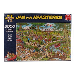 Jumbo Jan Van Haasteren The Park Puzzle (3000-Piece) [並行輸入品]