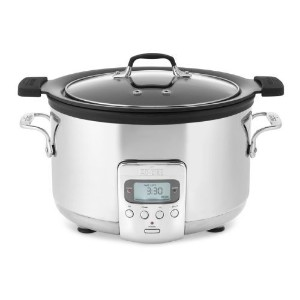 All-Clad Deluxe 4-QT. Slow Cooker with Cast Aluminum Insert by All-Clad [並行輸入品]