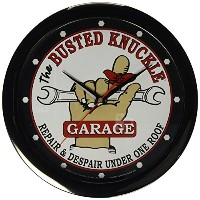 Busted Knuckle Garage BKG-67 Wall Clock [並行輸入品]