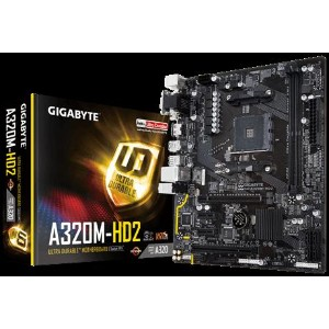 GIGABYTE GA-A320M-HD2 A320 Chipset搭載マザーボード
