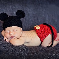 LuxBene(TM)BS#S Newborn Baby Crochet Knit Costume Photo Photography Prop Girls Boys Outfits...