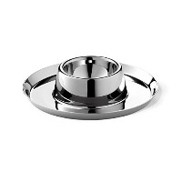 ZACK 20837 Collo Egg Cup with Glossy Finish, 0.9-Inch, Stainless Steel [並行輸入品]
