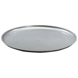 Party Dimensions Plastic Tray, 12-Inch, Silver by Party Dimensions