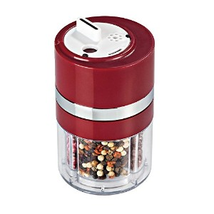Zevro KCH-06113 Dial-a-Spice Multiple Spice Container, Red by ZevrO