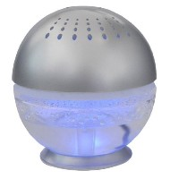 EcoGecko 75518 Little Squirt Air Cleaner and Revitalizer, Silver [並行輸入品]