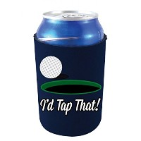 Coolie Junction I ' d Tap That Funny Can Coolie ブルー TapThatCan-Navy