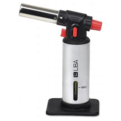 LiBa Kitchen Butane Culinary Torch for Creme Brulee and Food by LiBa