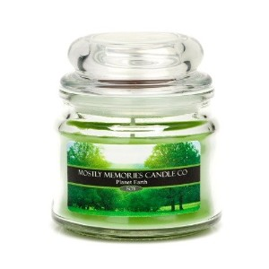 Mostly Memories Planet Earth 4-Ounce Lid Lites Soy Candle [並行輸入品]