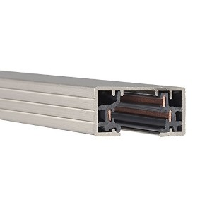High Quality HT2-BN 120VH Track Single Circuit, Brushed Nickel