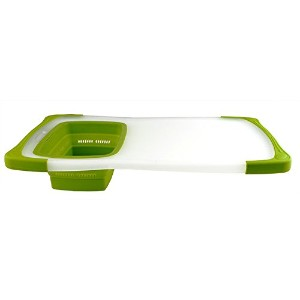 High Quality Over The Sink Contour Grippboard, 11.5 x 20, Natural/Green