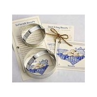 Biscuit Circles Cookie and Fondant Cutter - Ann Clark - 3.6 Inches - US Tin Plated Steel by Ann...
