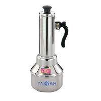 Tabakh Micro Puttu Kudam Cooker Stainless Steel Steamer, 0.5 Liter by Tabakh