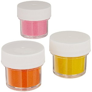 Shimmer Dust .47oz/Pkg-Bright - Orange, Yellow & Pink