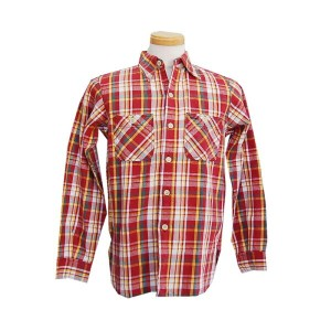 WAREHOUSE ウエアハウス 【HELLER'S CAFE】 1940's Heavy Cotton Flannel Shirts