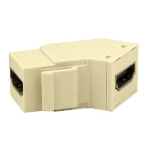 On-Q WP1234LA High Definition Multimedia Interface Keystone Insert, Light Almond by Legrand-On-Q