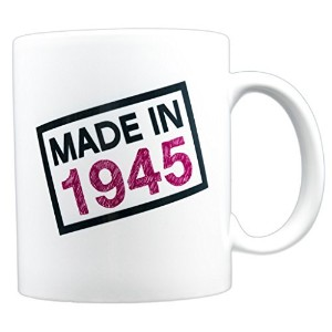 evermug Made in 1945 – 72 nd誕生日ギフトMug 11 oz.