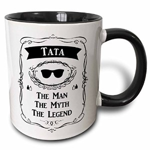InspirationzStore The Man The Myth The Legend – Tata The Man The Myth The Legend DAD父でスペイン語ポーランドチェコ...