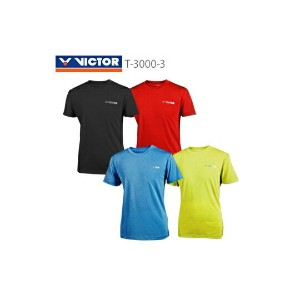 ▼15%OFF▼ VICTOR / ビクター T-3000-3 ユニ Tシャツ 【お取り寄せ商品】 【クリックポスト発送可】