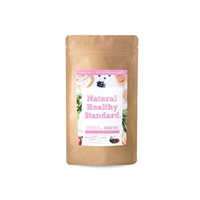 Natural Healthy Standard. ミネラル酵素スムージー乳酸菌ベリーヨーグルト味 160g