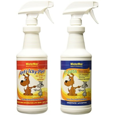 ANTI ICKY POO ODOR REMOVER AND P-BATH PRE-TREATER COMBO by Mister Max