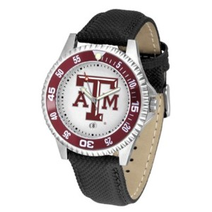 Texas A & M Aggies Competitorメンズ腕時計Suntimeによって