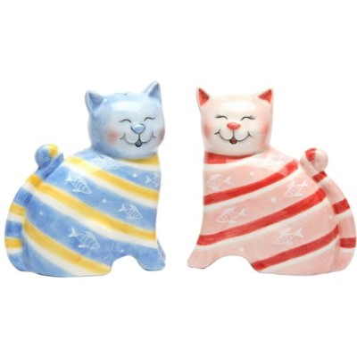 Appletree Design Cat Salt and Pepper Set, 7.9cm