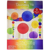Rainbow Decorating Kit by Amscan