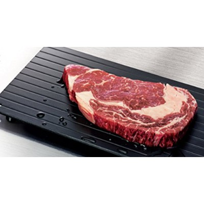 Imperial Home High Quality Fast Defrosting Tray - The Safest Way to Defrost Meat or Frozen Food Quickly Without Electricity, Microwave, Hot Water or Any Other Tools by Imperial Home