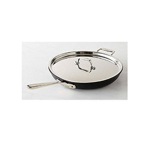 All-Clad NS1 Nonstick Induction 12 Fry Pan with Loop & Lid by All-Clad