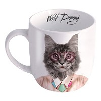Just Mustard Cat Wild Dining Mug