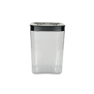 High Quality Cube 4-1/2-Quart Storage Container with Stainless Steel Lid