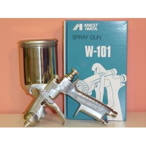 【W-101-131G】【W-101-132G】【W-101-134G】ANEST IWATAアネスト岩田W-101小型スプレーガンシリーズ1.3口径 重力式【カップ別売です】アネスト岩田キャンベル...