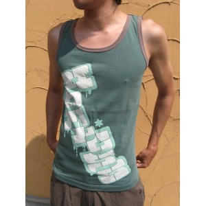 ★Special Sale!! 20%OFF!!★ HOMLESS TANK TOP BOUNCE GREEN M