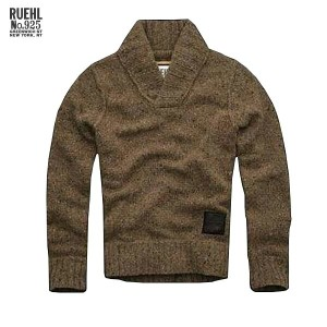 【25%OFFセール 12/16 20:00~12/21 1:59】 ルール RUEHL No.925 正規品 メンズ セーター SWEATER ブラウン・BROWN