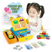 ★NEW★ Pororo talking mart cash register toy / Pororo checkout counter / Pororo mart cashier toy ...