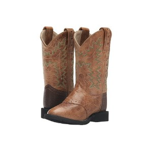 (toddler little kid) ブーツ old west kids boots comfort wear tan fry