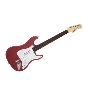 PS3 Rock Band 3 Stratocaster Cherry ギターコントローラー