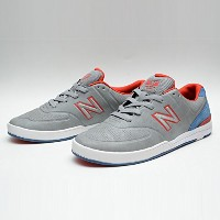 (ニューバランス) NEW BALANCE NUMERIC LOGAN MEDIUM GREY 9.5(27.5cm)
